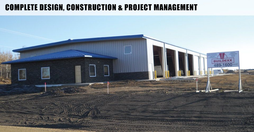 Complete Design, Construction & Project Management | One of our metal buildings in Edmonton